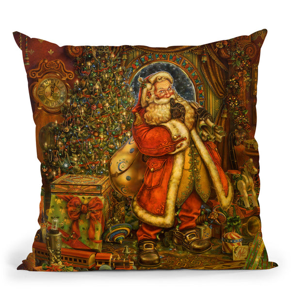 Christmas Presence Throw Pillow By Tate Licensing