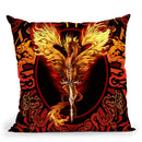 Dragonsword Flameblade Throw Pillow By Tate Licensing