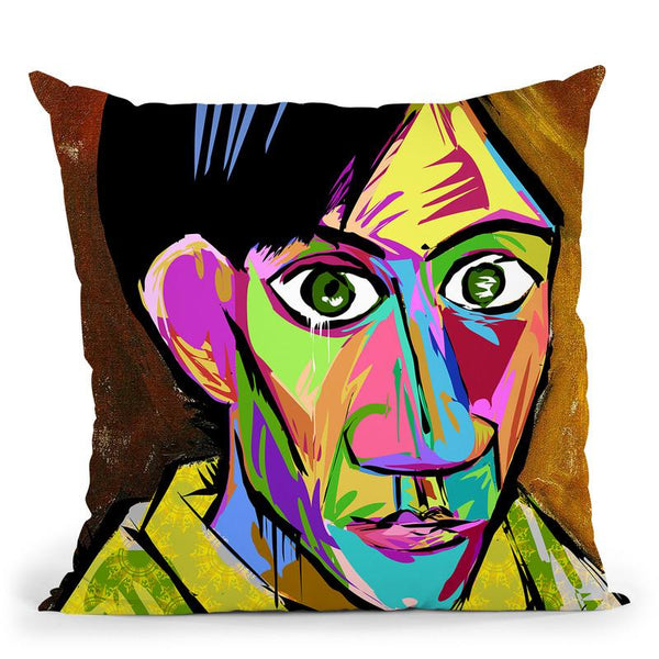 Picasso Throw Pillow By  Technodrome1