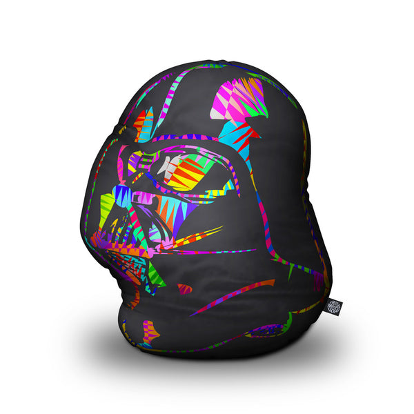Darth Vader Drome Shaped Throw Pillow by Technodrome1 - by all about vibe