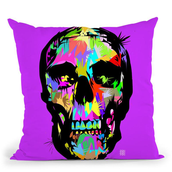 Death Is Beautiful Throw Pillow By  Technodrome1