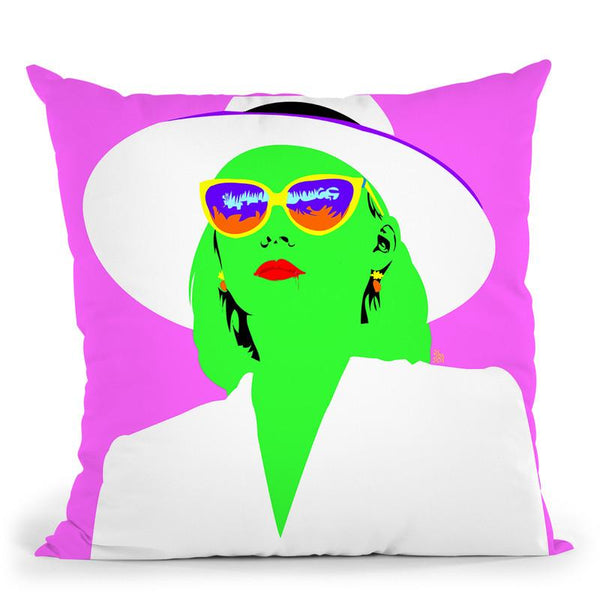 Power Of The P Throw Pillow By  Technodrome1