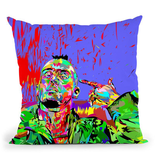 Taxi Driver Throw Pillow By  Technodrome1