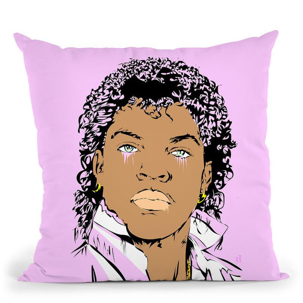 Young Ice Cube Throw Pillow By  Technodrome1