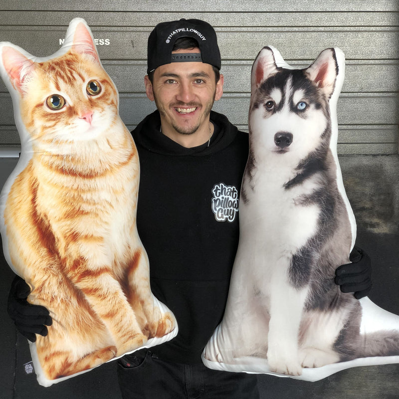 Custom Pet Pillow - All About Vibe