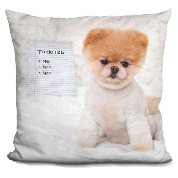 Boo To Do List Throw Pillow