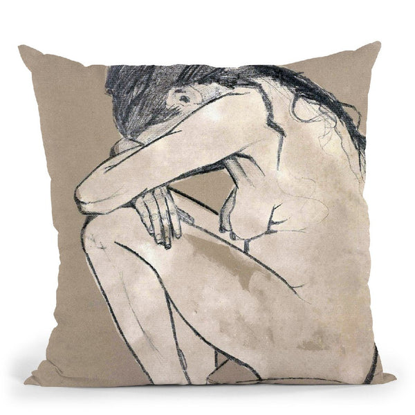 Sorrow (Van Gogh) Throw Pillow By Van Gogh