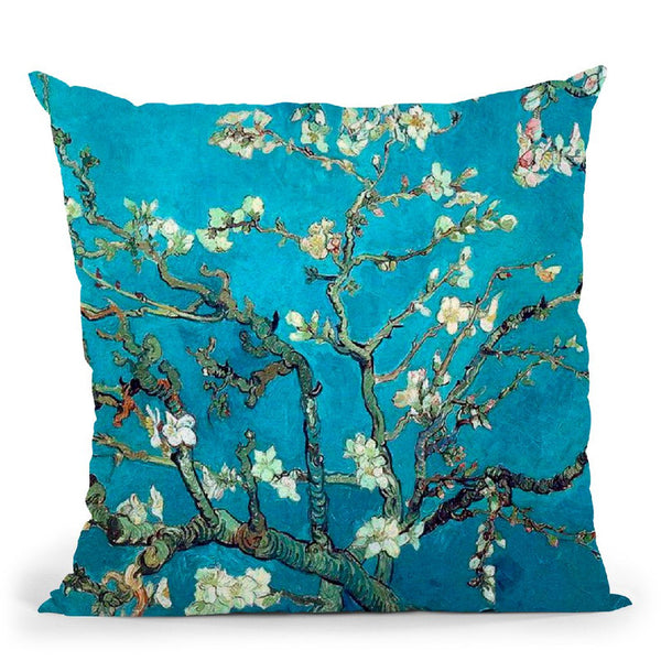 Almond Blossom Throw Pillow By Van Gogh