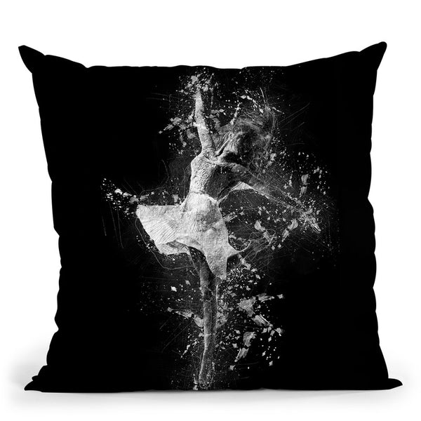 Dancing Throw Pillow By Cornel Vlad - by all about vibe