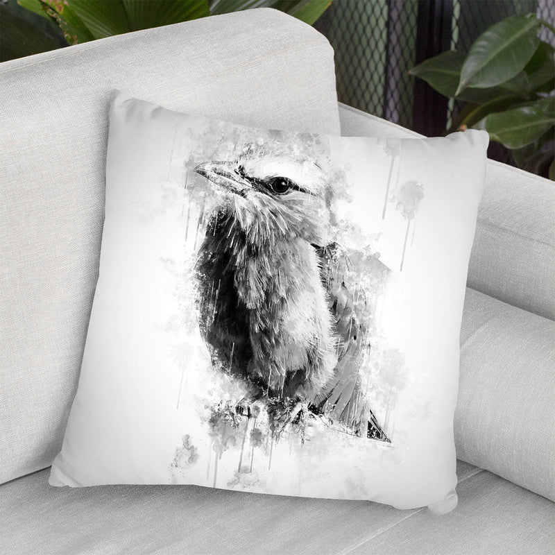 Lilac Breasted Roller I Throw Pillow By Cornel Vlad - by all about vibe