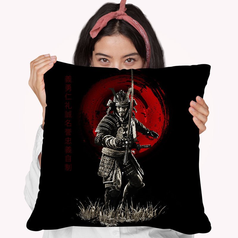 Attack Warrior Throw Pillow By Cornel Vlad