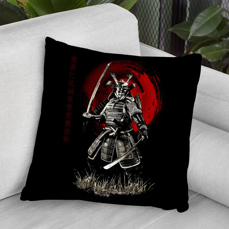 Warrior Throw Pillow By Cornel Vlad