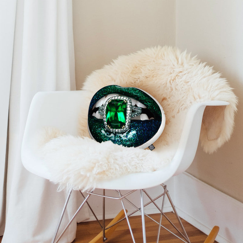 Envyaped Throw Pillow By Vlada Haggerty - by all about vibe