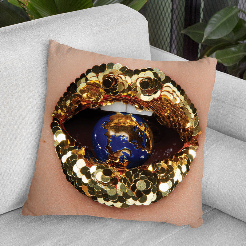 Home Throw Pillow By Vlada Haggerty - by all about vibe