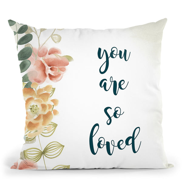 Baby Girl Ii Throw Pillow By World Art Group
