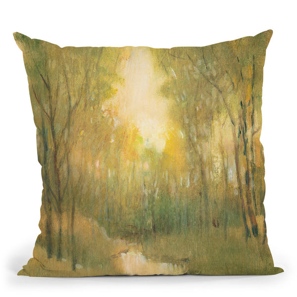 Forest Sanctuary I Throw Pillow By World Art Group