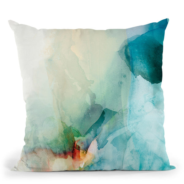 Aversion I Throw Pillow By World Art Group