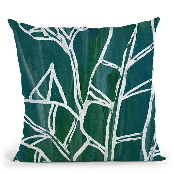 Jungle Batik Iii Throw Pillow By World Art Group