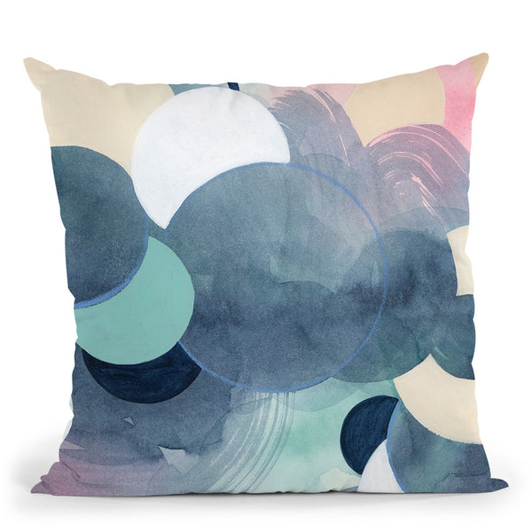 Ocular Prism I Throw Pillow By World Art Group