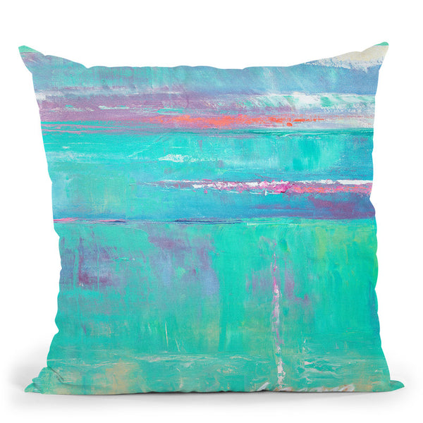 Beneath The Sea Ii Throw Pillow By World Art Group