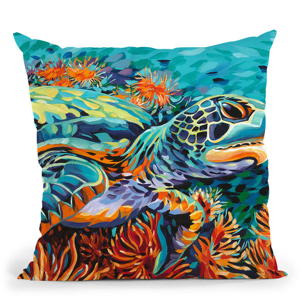 Sea Sweetheart I Throw Pillow By World Art Group