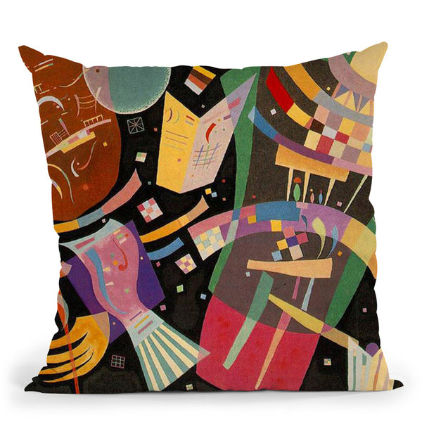 Composition Vii Throw Pillow By Wassily Kadinsky