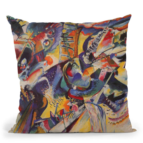 Composition Viii Throw Pillow By Wassily Kadinsky