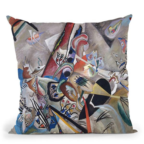 Composition X Throw Pillow By Wassily Kadinsky