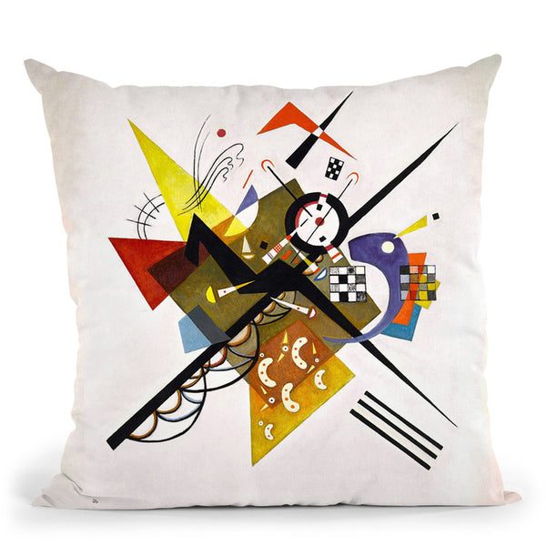 Moscow Red Square Throw Pillow By Wassily Kadinsky