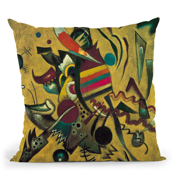 On White Ii Throw Pillow By Wassily Kadinsky