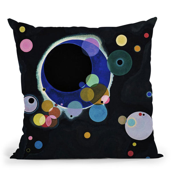Overcast Throw Pillow By Wassily Kadinsky