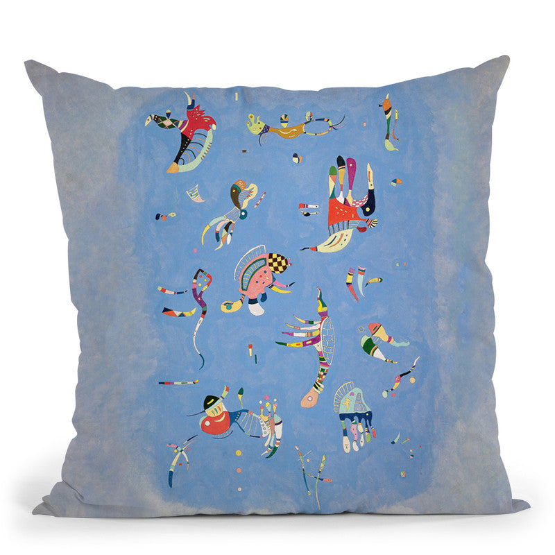 Points Throw Pillow By Wassily Kadinsky