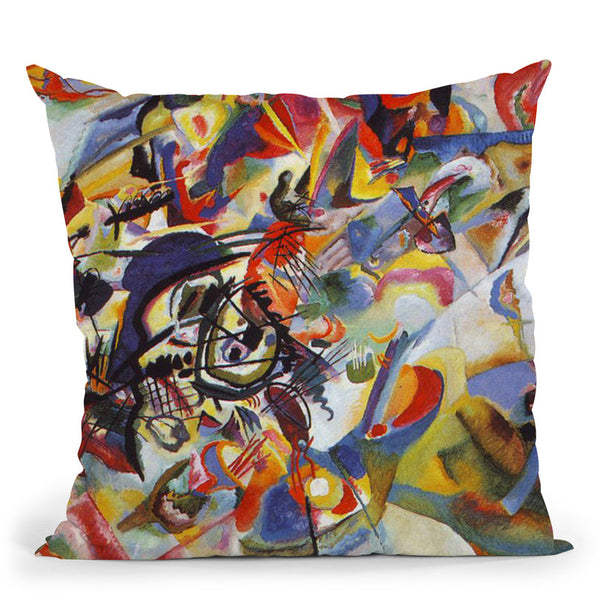 Aquarell 6 Throw Pillow By Wassily Kadinsky