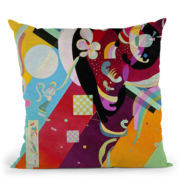 Composition Iv Throw Pillow By Wassily Kadinsky