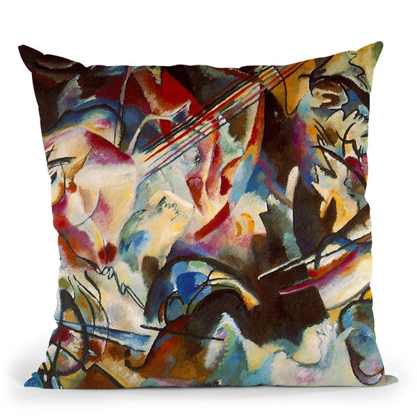 Composition Ix Throw Pillow By Wassily Kadinsky