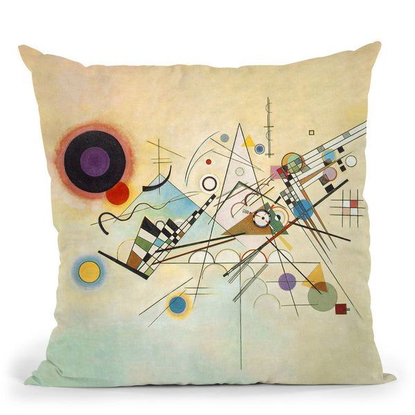 Composition Vi Throw Pillow By Wassily Kadinsky