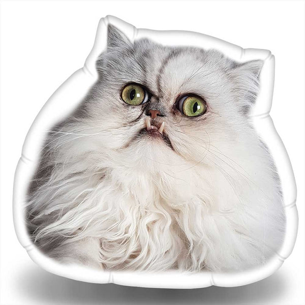 Wilfred Warrior Sideways Look Throw Pillow