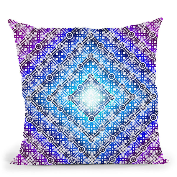 Colored Pattern I Throw Pillow By Yantart Designs