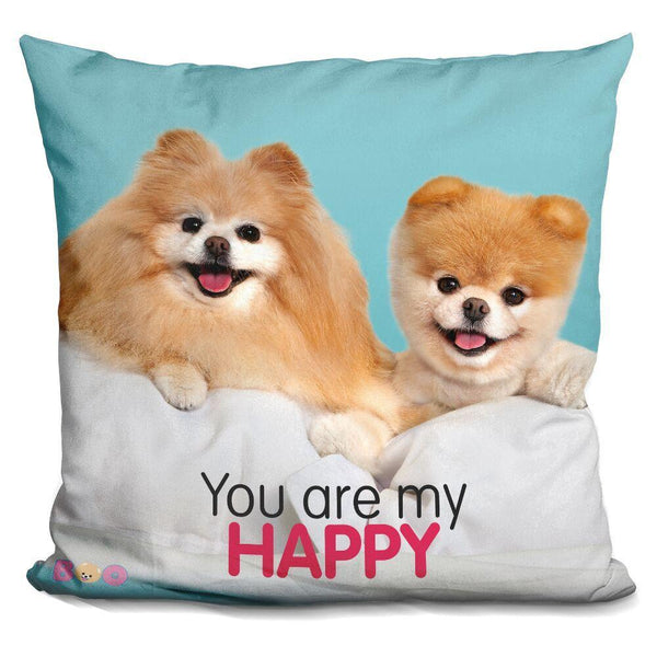 Boo You Are My Happy Throw Pillow