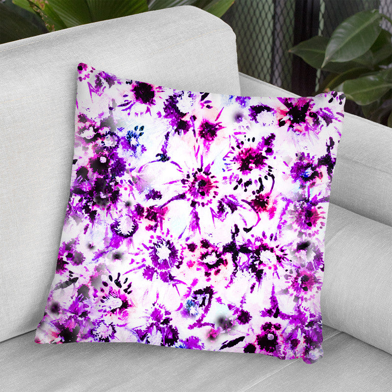 Anemone Dance Throw Pillow By Z Art Gallery