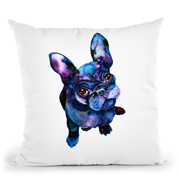 Batdog Throw Pillow By Z Art Gallery