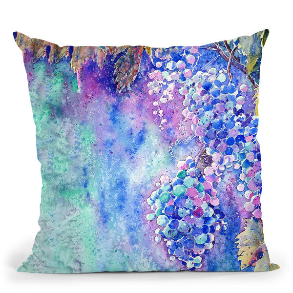 Nectar Of Nature Throw Pillow By Z Art Gallery