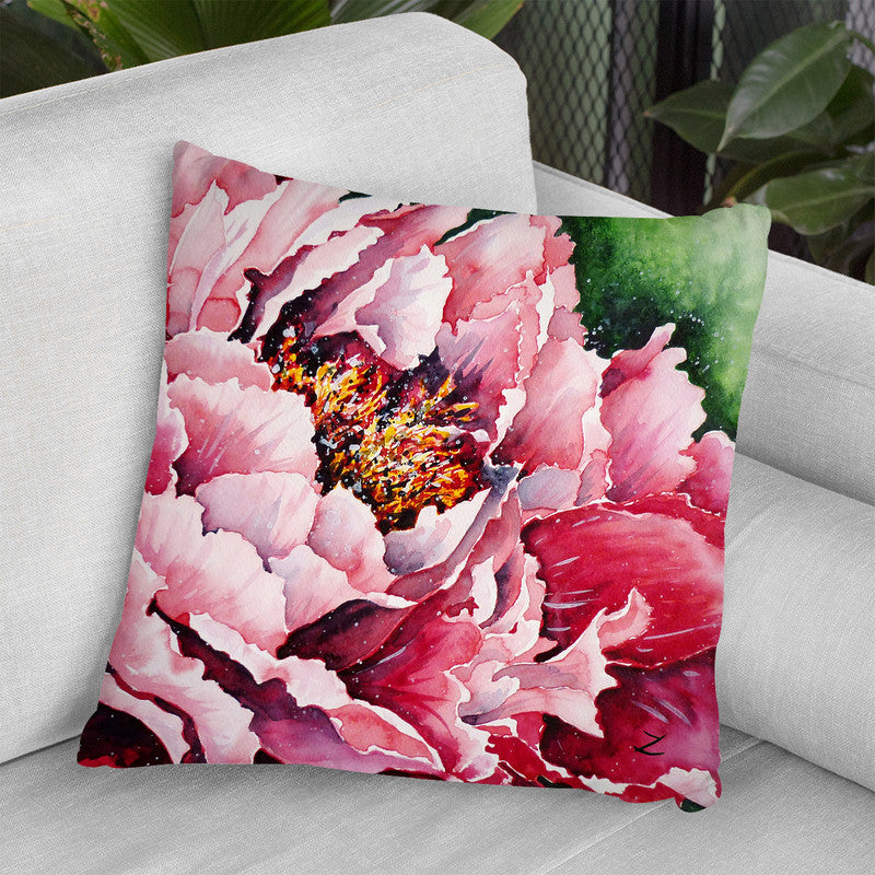 Peony Throw Pillow By Z Art Gallery