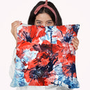 Poppy Impulse Throw Pillow By Z Art Gallery