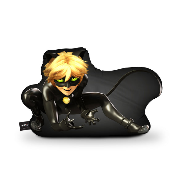 Cat Noir II Throw Pillow By Miraculous
