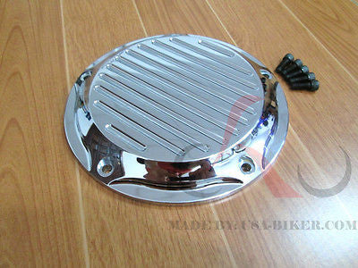5 HOLE DERBY COVER '99-'16 HARLEY TWIN CAM TOURING ROAD KING SOFTAIL
