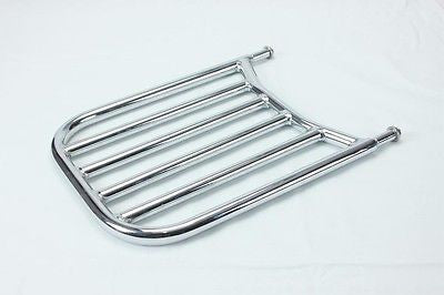 Talon Billets - Y59R Backrest Sissy Bar Luggage Rack 4  Cruiser Chieftain Indian 2014-2015