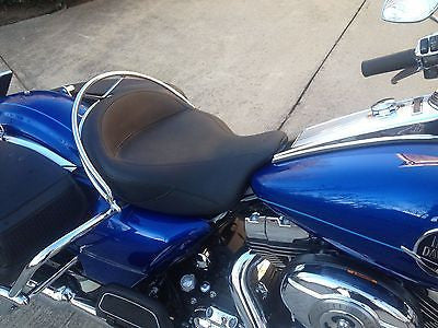 Talon Billets - Grab Rail 4 Harley Road King Solo Bucket Set Sundown Mustang Seat 97-12 Classic