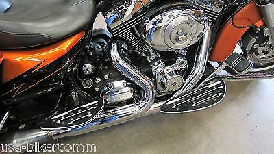 BILLET FOOT BOARD FOOTBOARDS & PASSENGER FLOORBOARDS HARLEY TOURING FL SOFTAIL