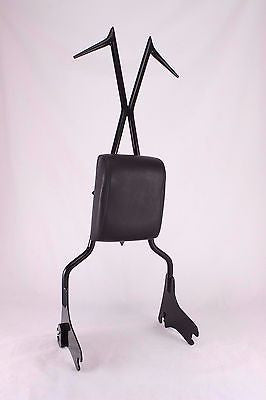 BAGGER BACKREST SISSY BAR W PAD 4 HARLEY TOURING ROAD KING STREET ELECTRA 97-08